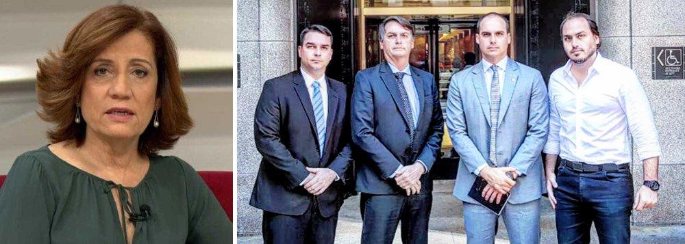 Miriam Leitão: trapalhadas do clã Bolsonaro viram um problema nacional