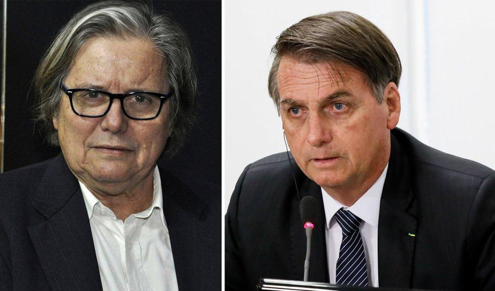 Paulo Moreira Leite e Jair Bolsonaro