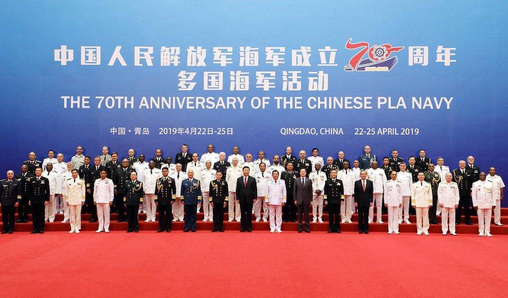 China propõe construção de comunidade marítima com futuro compartilhado