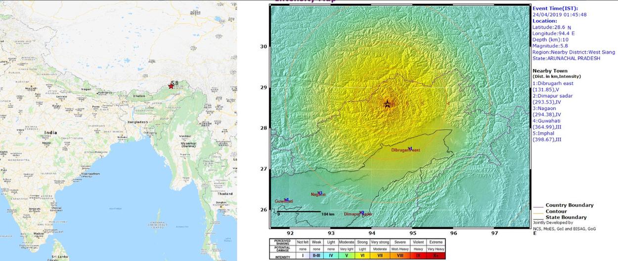 Índia é atingida por terremoto de magnitude 6,1