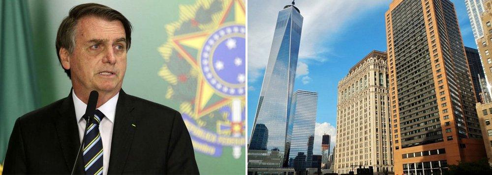 Após ser barrado em dois locais em NY, evento de homenagem a Bolsonaro será no hotel Marriott