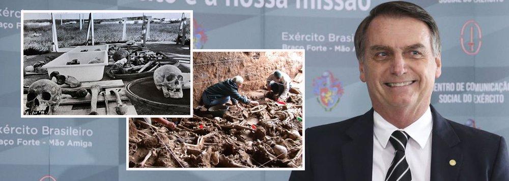 Só cachorro pode procurar osso, famílias de mártires brasileiros não