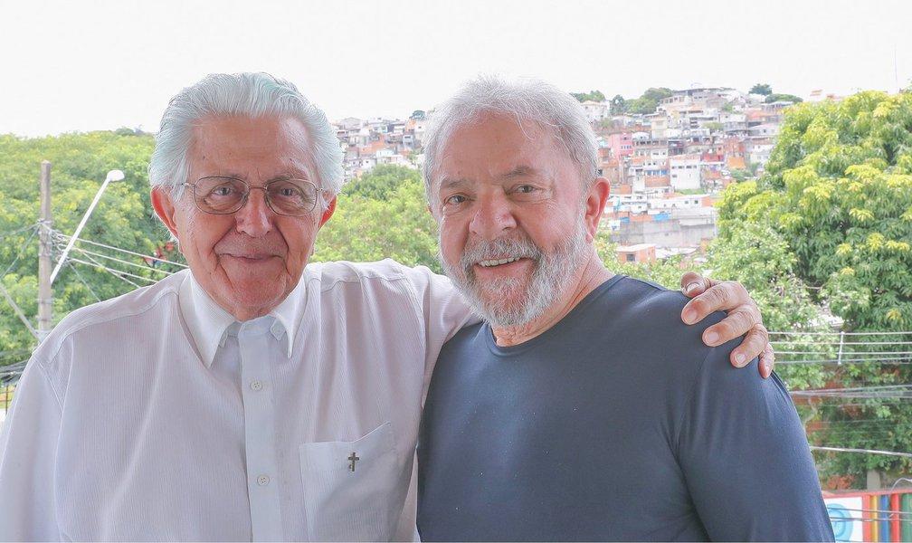 D. Angélico a Lula: Jesus passou da prisão, tortura e morte para a ressurreição