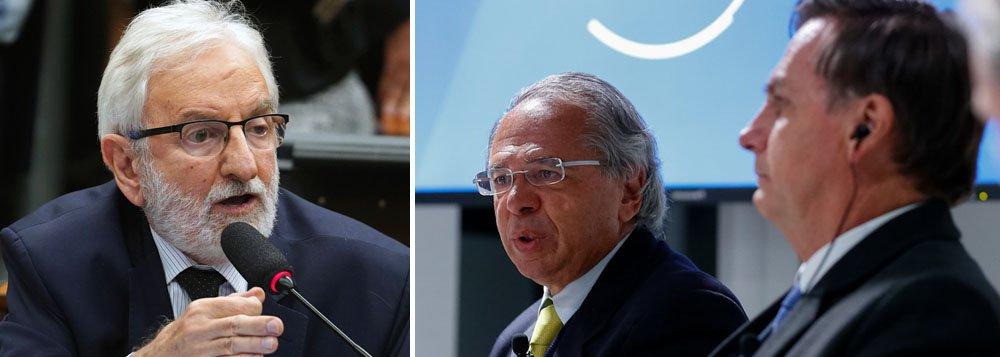 Ivan Valente: Brasil está crescendo igual rabo de cavalo, pra baixo