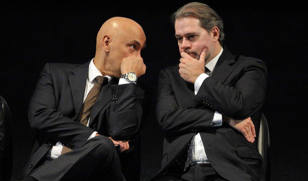 Toffoli e Moraes foram os grandes derrotados da ação contra fake news