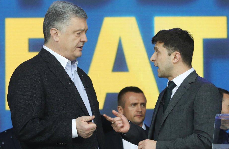 Ucrânia pode eleger neste domingo comediante que quer ser o 'novo Macron'