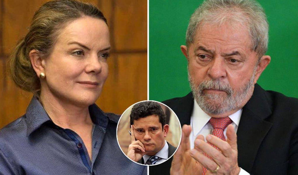 Gleisi: condenação de Lula precisa ser anulada
