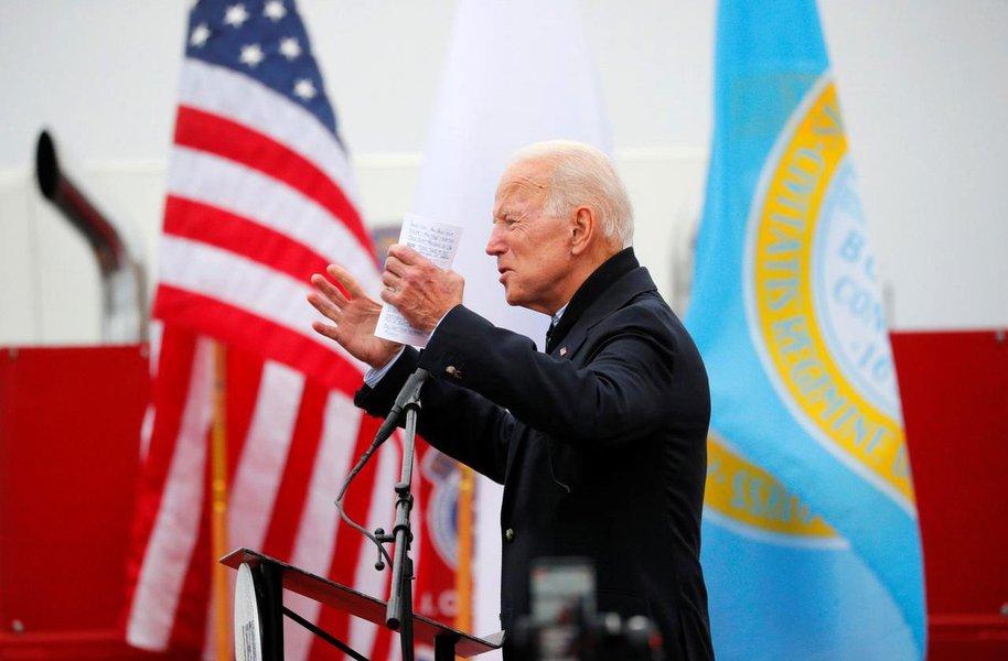 Joe Biden anuncia pré-candidatura à Casa Branca