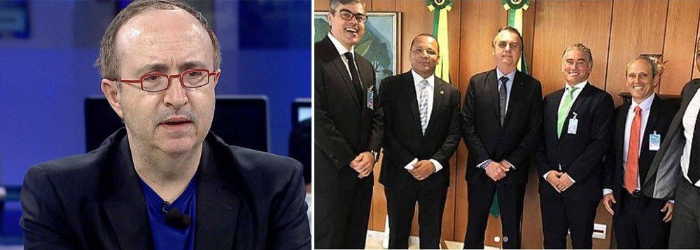 Reinaldo: Pai de Neymar com Bolsonaro é aberração de republiqueta