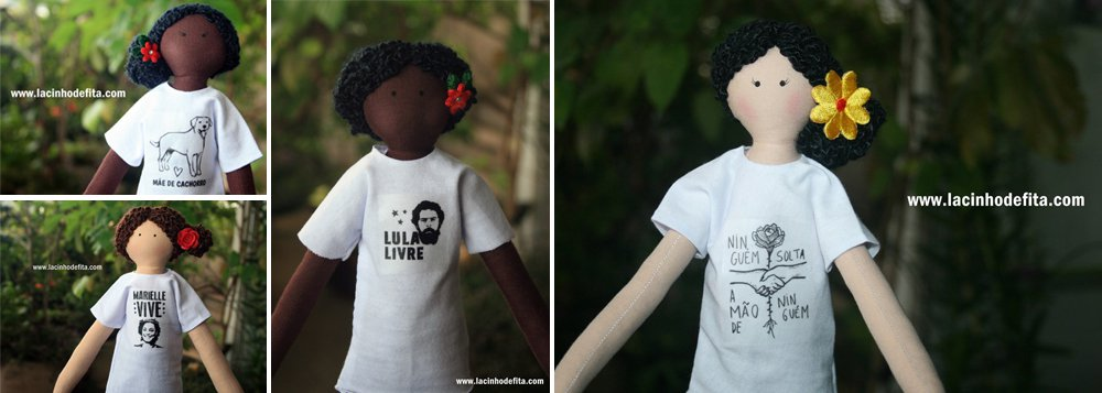 """Artesã lança coleção de """"bonecas progressistas"""""""