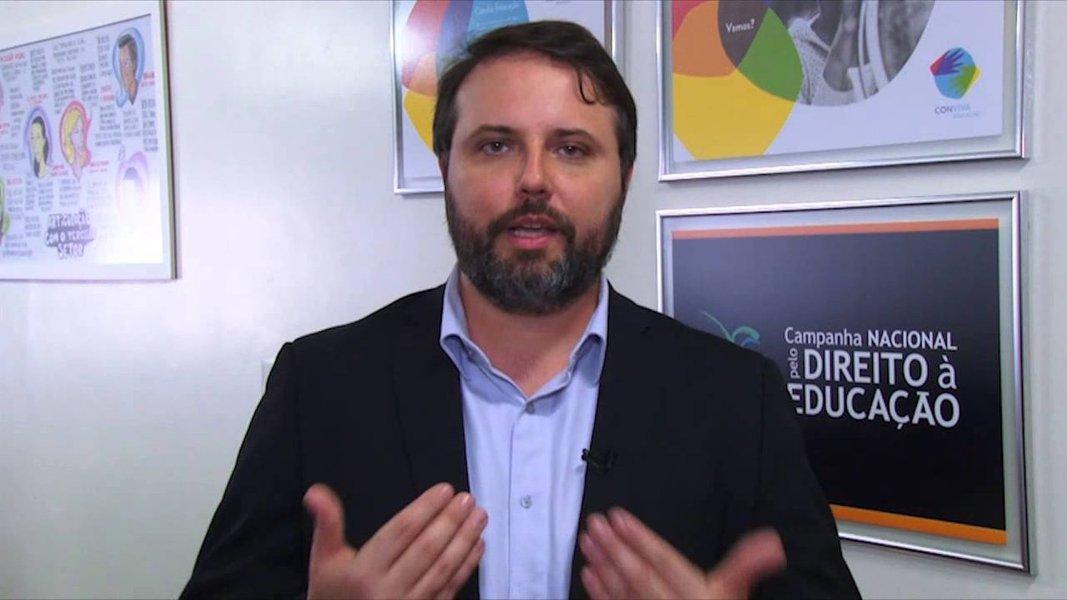 Daniel Cara critica nomeação de delegado para o Inep: mais um que não é educador