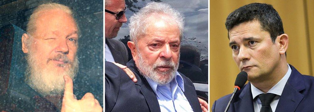 A intransparente transparência: Assange, Lula e Moro