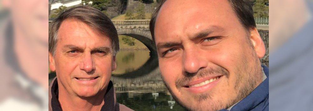 Bolsonaro empregou doadores de campanha do filho 'Carluxo'