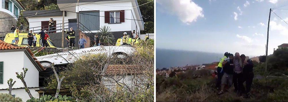 Pelo menos 28 pessoas morrem em acidente de ônibus na Ilha da Madeira