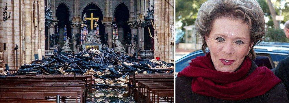 Bilionária brasileira doa R$ 88 milhões para reconstrução da Catedral de Notre-Dame
