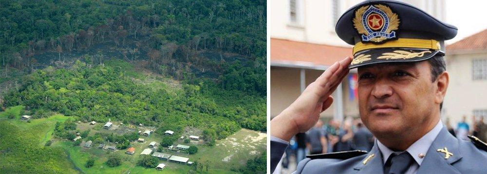 Comandante da Polícia Ambiental de SP presidirá o ICMBio