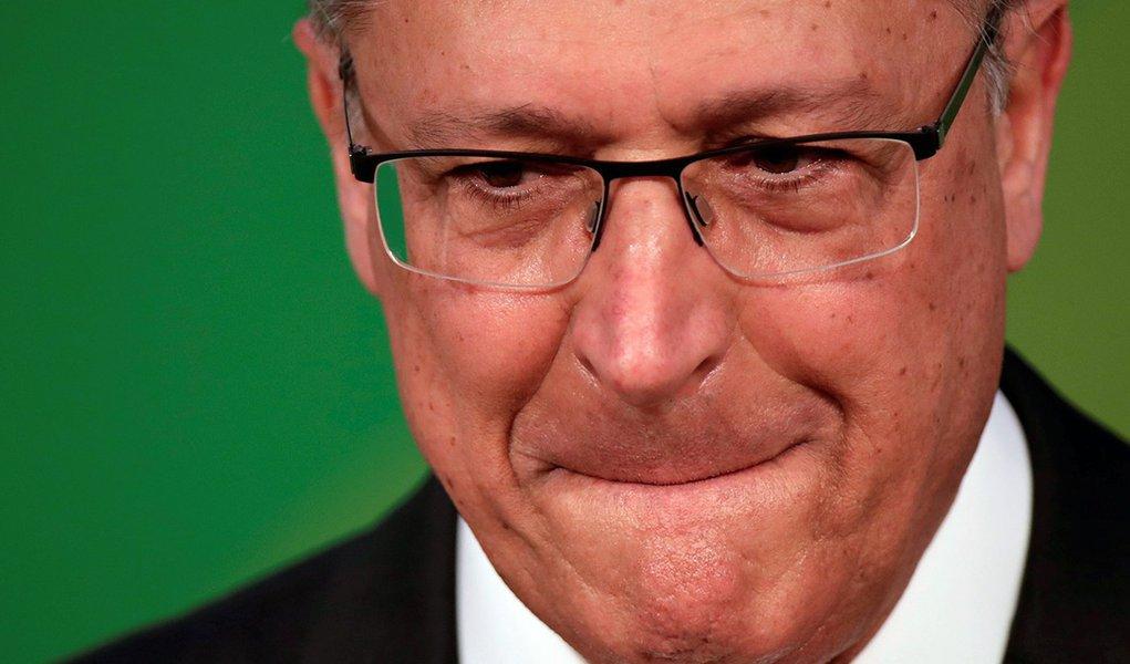Geraldo Alckmin depõe em inquérito da PF de São Paulo sobre cartel