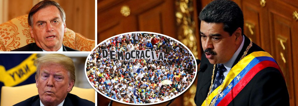 Brasil no encontro secreto que prepara a invasão da Venezuela