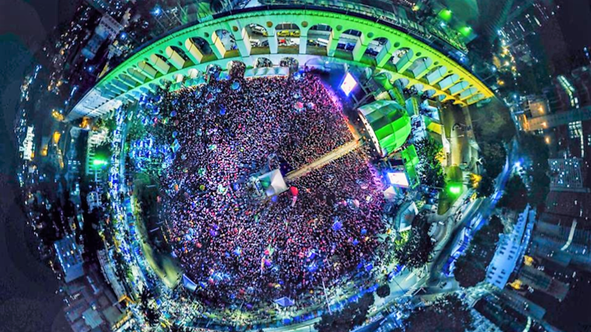 Vale do Anhangabaú será palco do Festival Lula Livre