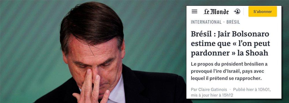 Bolsonaro vira presidente tóxico, aponta reportagem do Le Monde