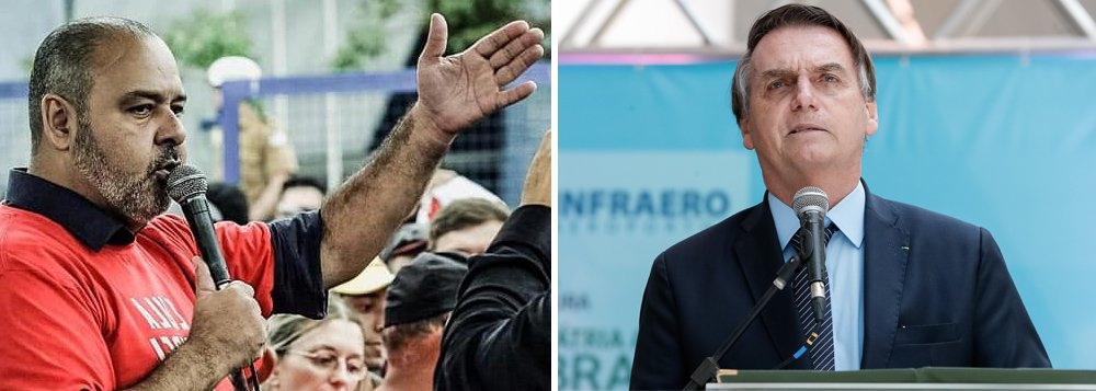 CUT:  Bolsonaro engana seus eleitores com fim de ganho real para o salário mínimo