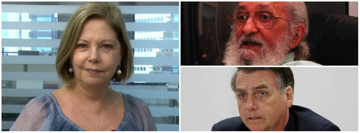 Eliane Cantanhêde defende Paulo Freire contra Bolsonaro