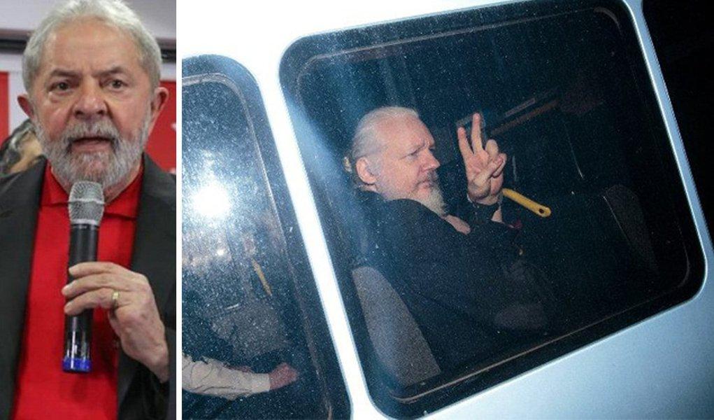 O Buraco Negro está aqui, engolindo Lulas e Assanges