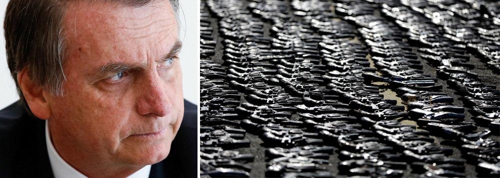 Bolsonaro diz que MST está 'mais fraco' porque flexibilizou posse armas