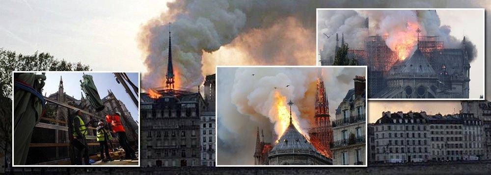 'Não restará nada', diz porta-voz da catedral de Notre-Dame sobre incêndio