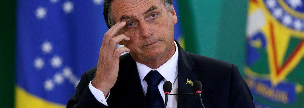 Bolsonaro faz mal à saúde