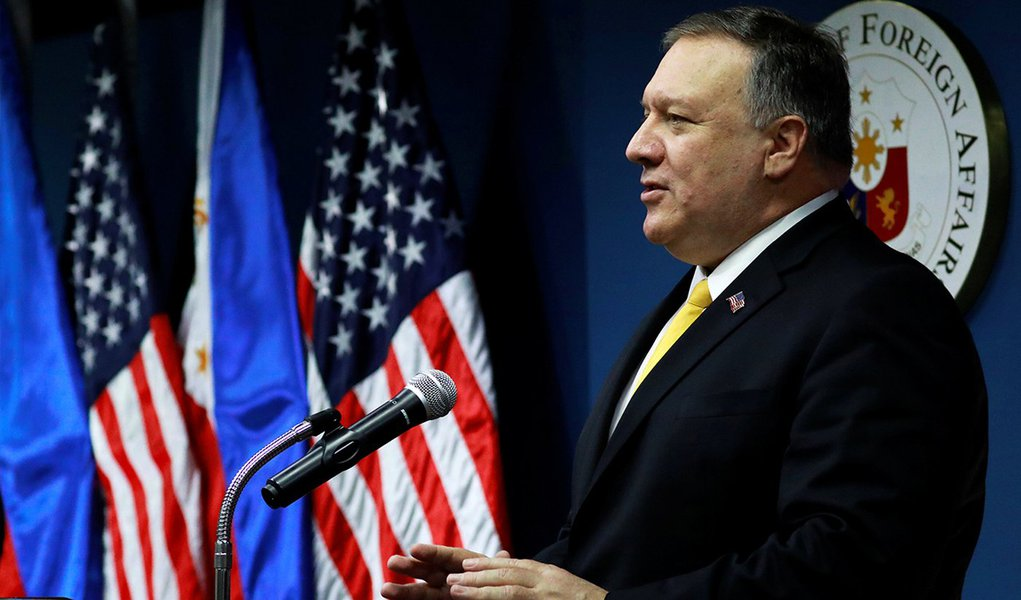 Pompeo: EUA não cruzarão os braços quanto as ações da Rússia na Venezuela