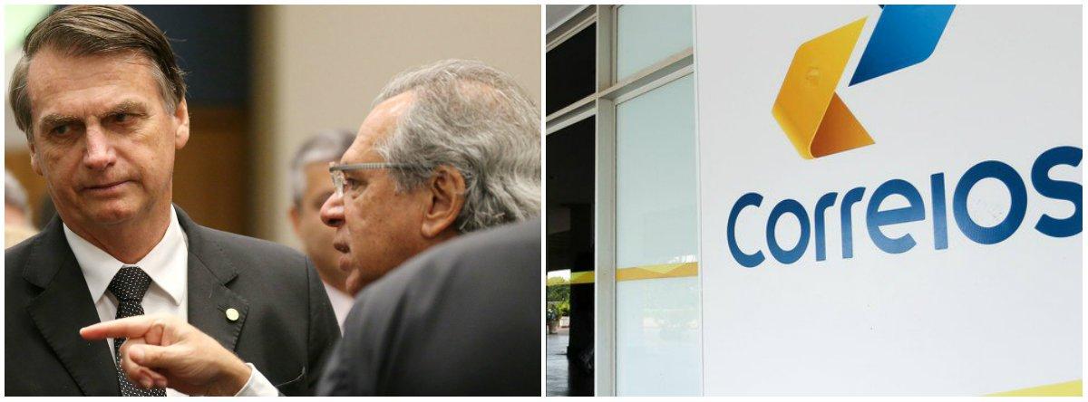 Bolsonaro quer privatizar os Correios