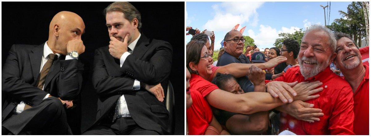 Toffoli & Moraes: Lula já pode falar e sites bolsonaristas viram heróis da liberdade de expressão