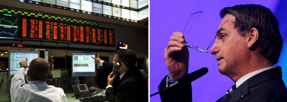 Mercado e Bolsonaro: senhor e servo
