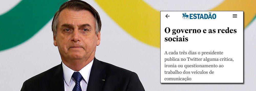 'Estadão' critica militância bolsonarista nas redes sociais