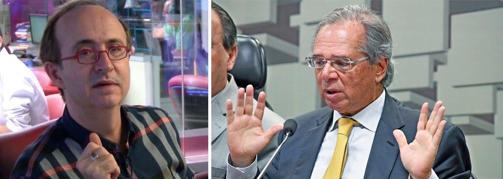 Reinaldo Azevedo: valor de mercado de Guedes caiu bem mais que da Petrobrás
