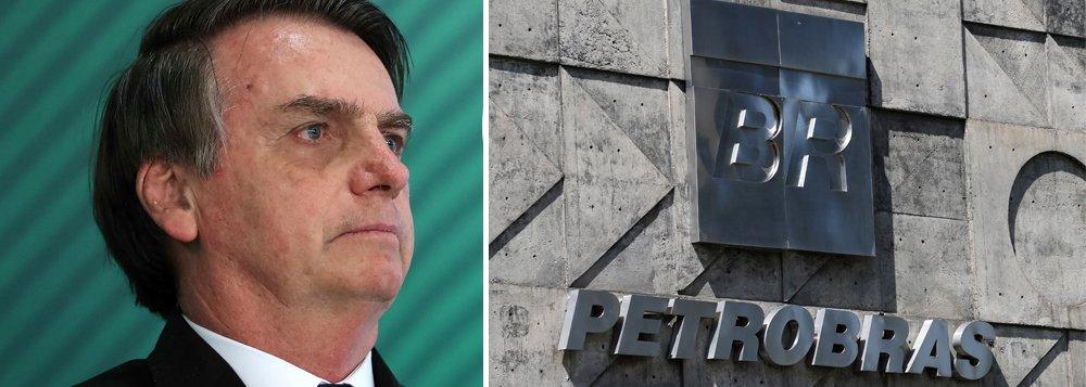 Editorial do Estado diz que Bolsonaro invadiu a Petrobrás como se a empresa fosse privada