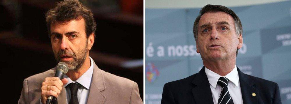 'Você é irresponsável e covarde', rebate Freixo sobre Bolsonaro chamar 80 tiros de incidente