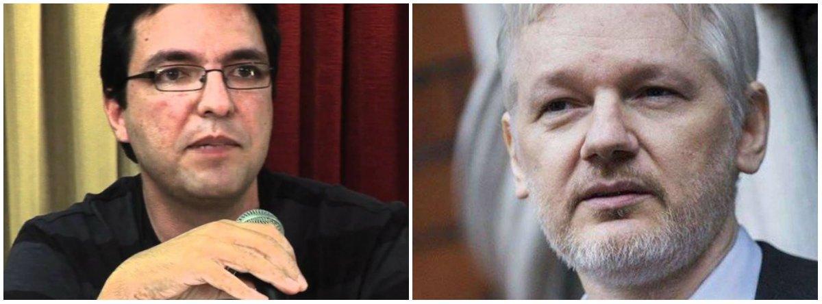 Luis Miguel: liberdade de imprensa vai para a lata do lixo com Assange preso
