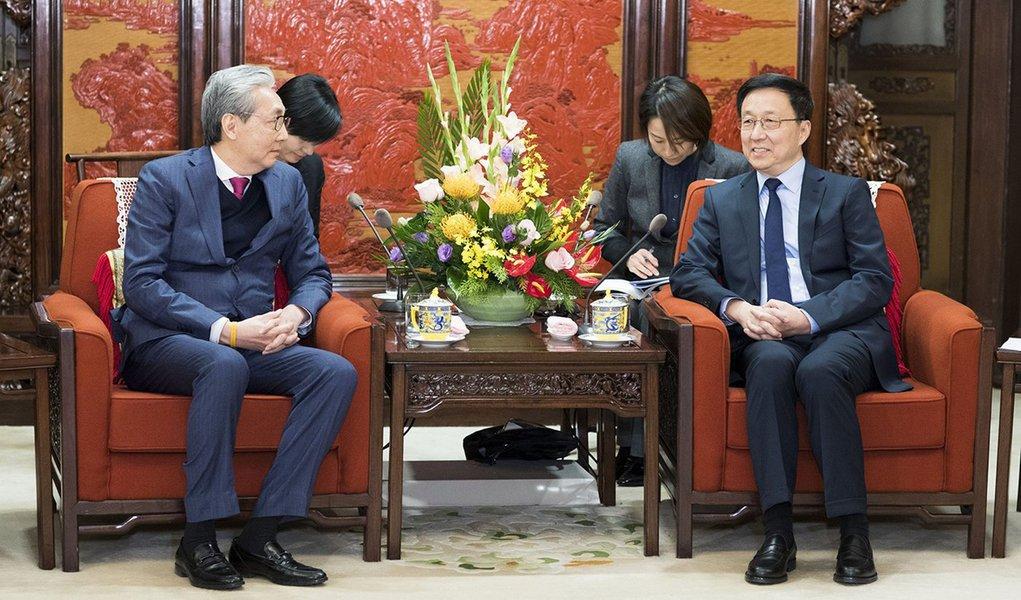 China recebe ex-secretário do Tesouro dos EUA