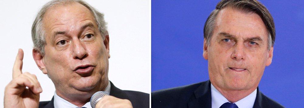 Ciro se revolta com Bolsonaro e diz que é hora de 'quebrar tudo'