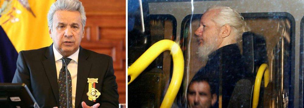 Moreno diz ter negociado condições para entregar Assange