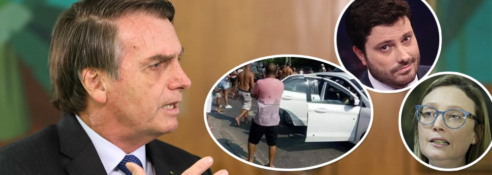Após ignorar morto pelo exército no Rio, Bolsonaro se solidariza com Gentilli