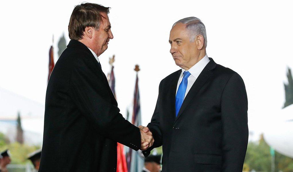 Bolsonaro felicita Netanyahu por reeleição: 'grande líder'