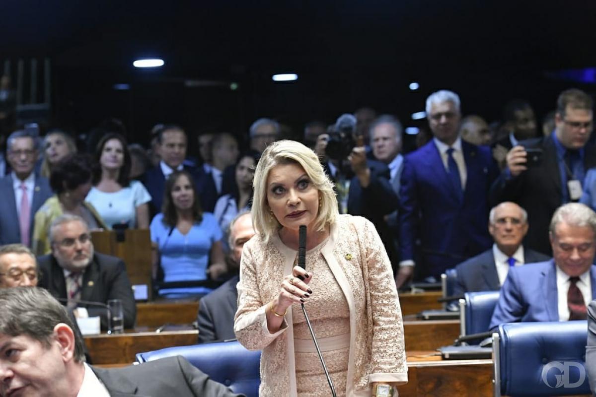 Conhecida como Moro de Saias, senadora do PSL é cassada pelo TRE