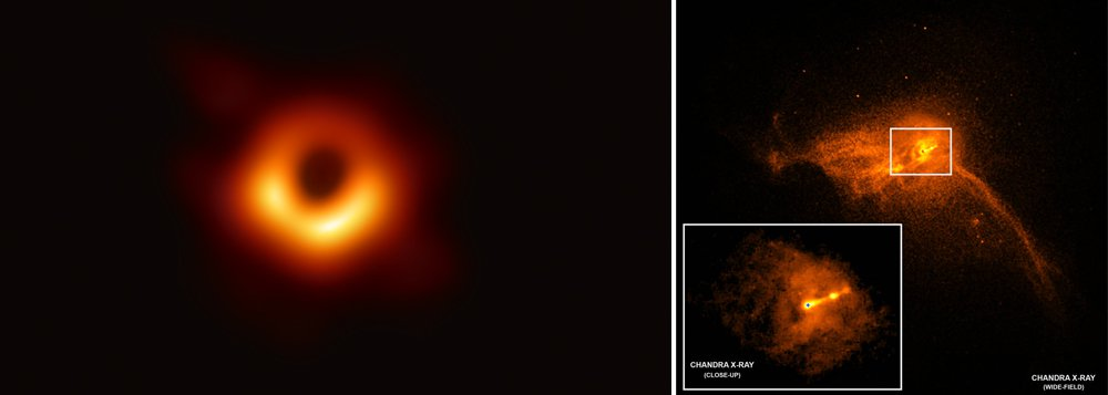 Cientistas revelam primeira imagem registrada de um buraco negro