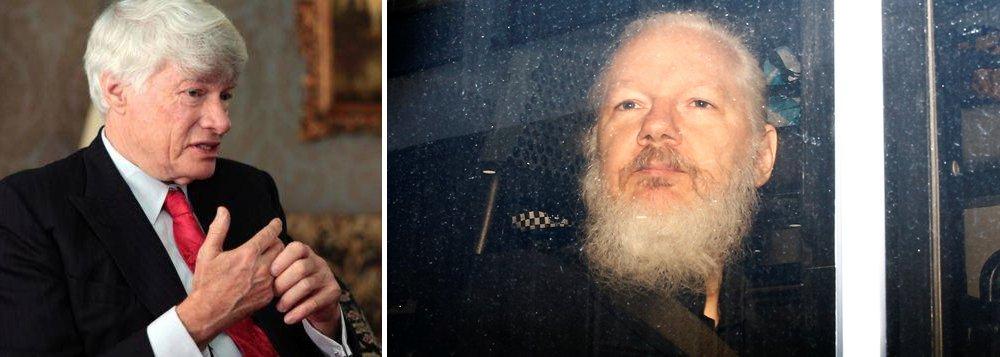 Inglaterra negou assistência médica a Assange por 7 anos