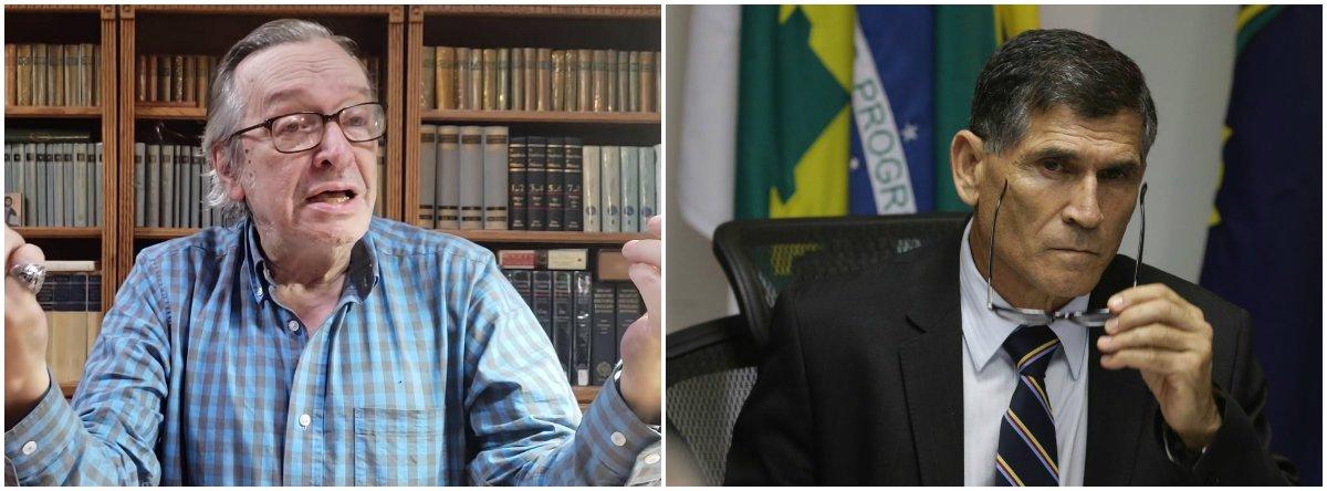 Fernando Brito: Olavo de Carvalho humilha militares