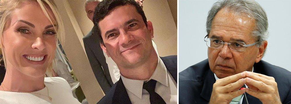 Sem respaldo político e popular, Moro e Guedes buscam apoio junto a celebridades
