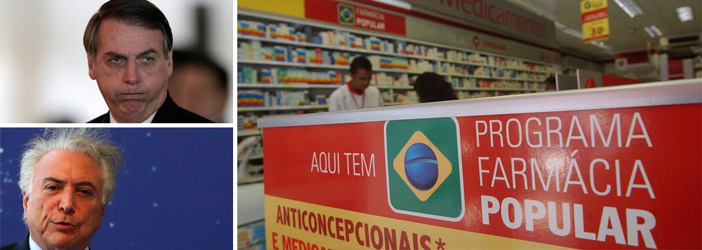 Desastre: Farmácia Popular deixa de atender 7 milhões em 2 anos
